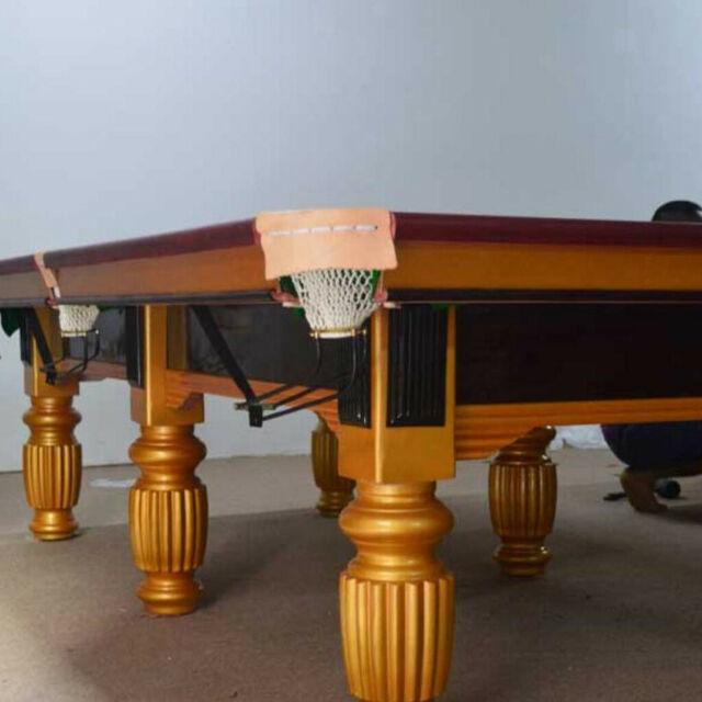 Alomejor Billiards Mesh Bag Snooker Table Bag Net Billiard Pool Snooker Table Replacement Mesh Net Bags Pool Table Accessories 6 Pcs//Set