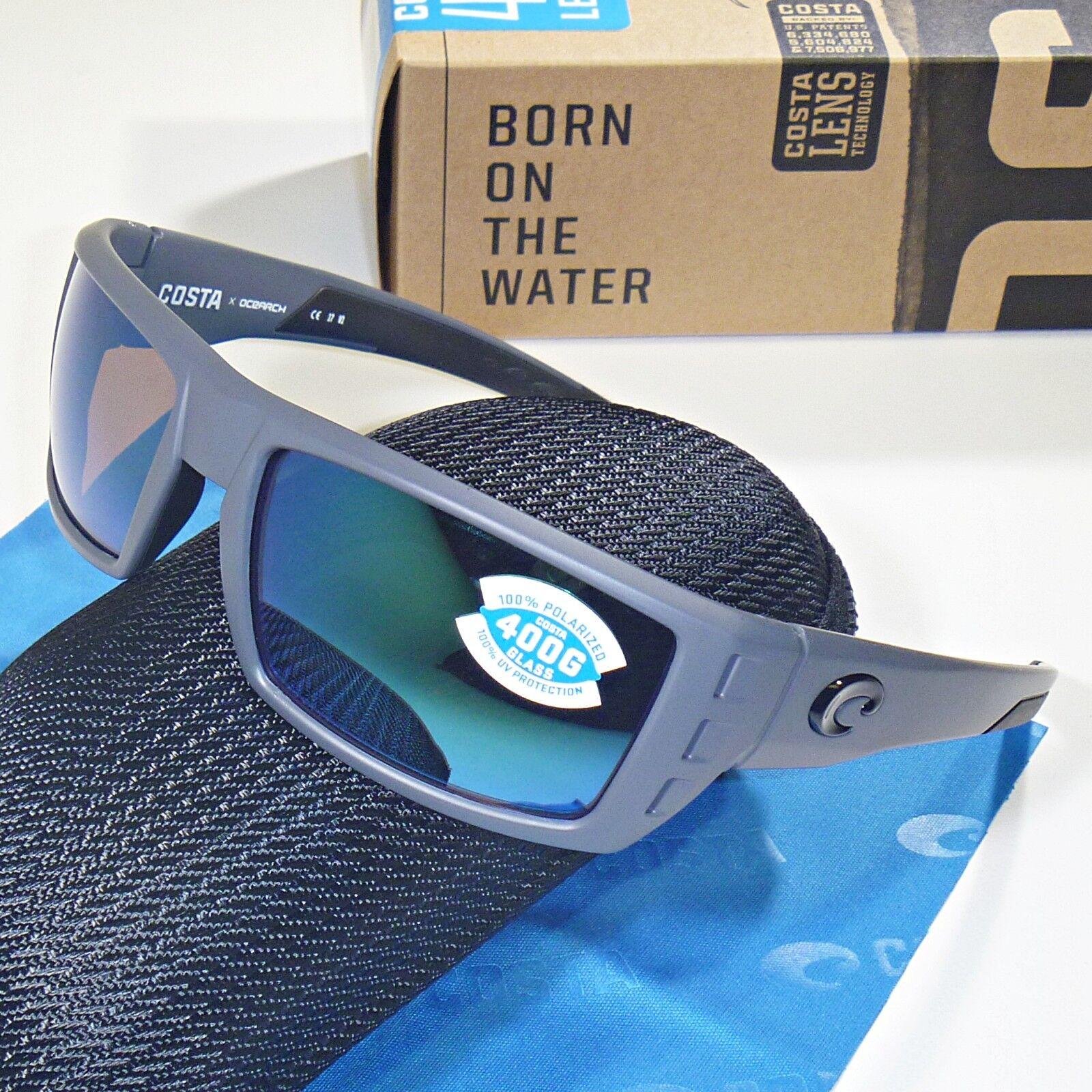 02f9ea4fdc01 Costa Del Mar Rafael Ocearch 400g Polarized Sunglasses Matte Gray ...