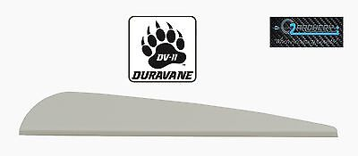 "White Pkg 12 ***when Accuracy Counts*** 4.0"" Dv-ii Duravane Vanes"