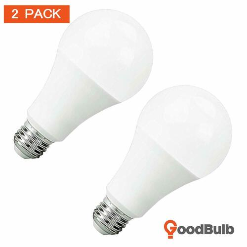 LED 3 Way Bulb 5//9.5//16 Watt A21 Shape /& E26 Base 5000K Color Temperature