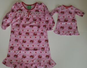Sesame Street Elmo Toddler Christmas Nightgown 18 Doll Gown