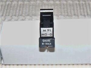 SHURE-M91-MG-D-GOOD-CARTRIDGE-AND-VINTAGE-SHURE-HI-TRACK-STYLUS