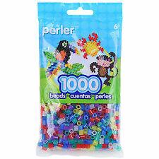 Bulk Buy Perler Beads 1,000 Count Dark Grey 3 Pack