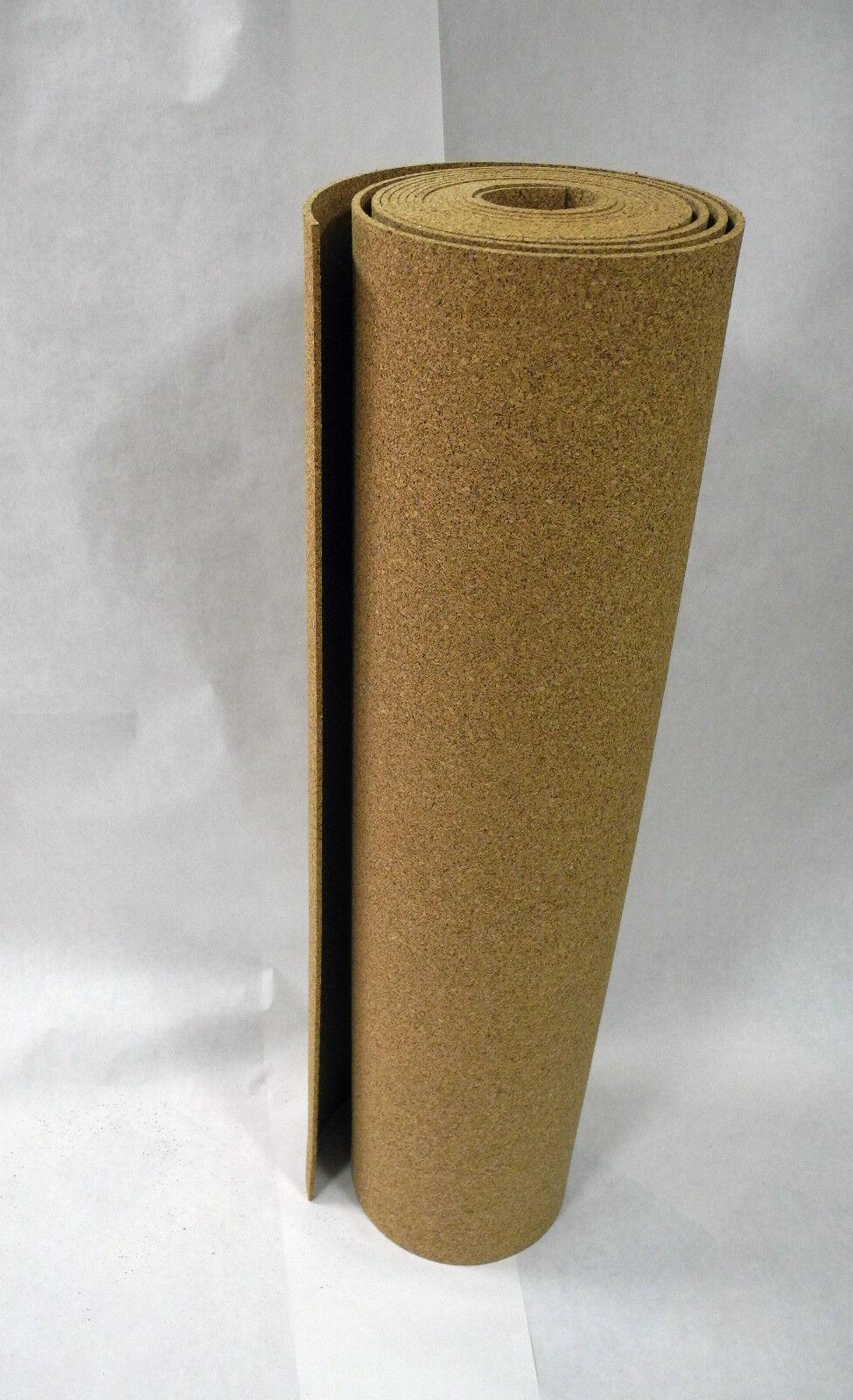6 mm Rollenkork, Kork 5 m², Dämmunterlage, Schallisolierung, Pinnwand, Akustik