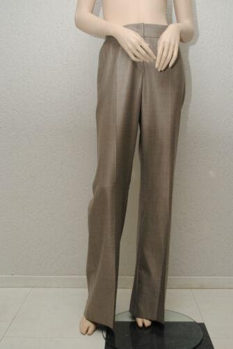 42 Femme Pantalon Escada 40 de Soie Gris Sz Authentic Nouveau qvfHU7