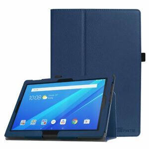 100% authentic 444a0 b39c2 PU Leather Case Folio Stand Cover for AT&T Lenovo Moto Tab 10.1-Inch ...