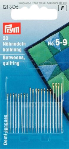Premium Quality Prym Hand Sewing Needles FROM ONLY £1.99 PER SET