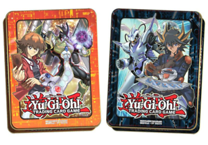 Yu-Gi-Oh Jaden Yuki /& Yusei Fudo Tin Boxen Deutsch NEU Karten Mega Tins 2018