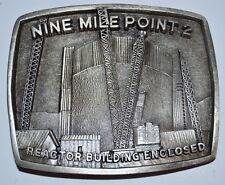 Nine Mile Point Nuclear Generating Station Reactor Building Enclosed Belt Buckle