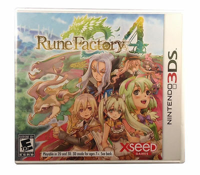 Rune Factory 4 (Nintendo 3DS) Brand New / Sealed FREE SHIPPING