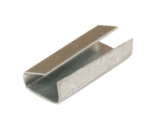 2000 x 12mm x 25mm Metal Hand Pallet Strapping Banding Seal Clips