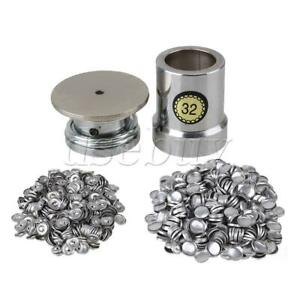 Fabric Covered Button Press Machine Dies Mold for 0.3mm to 0.7mm Fabrics