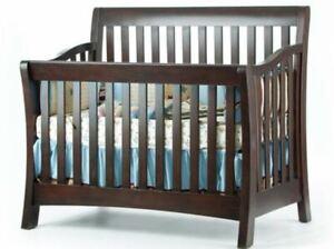 Munire Urban Crib W Full Conversion Espresso Model 8100 N Ebay