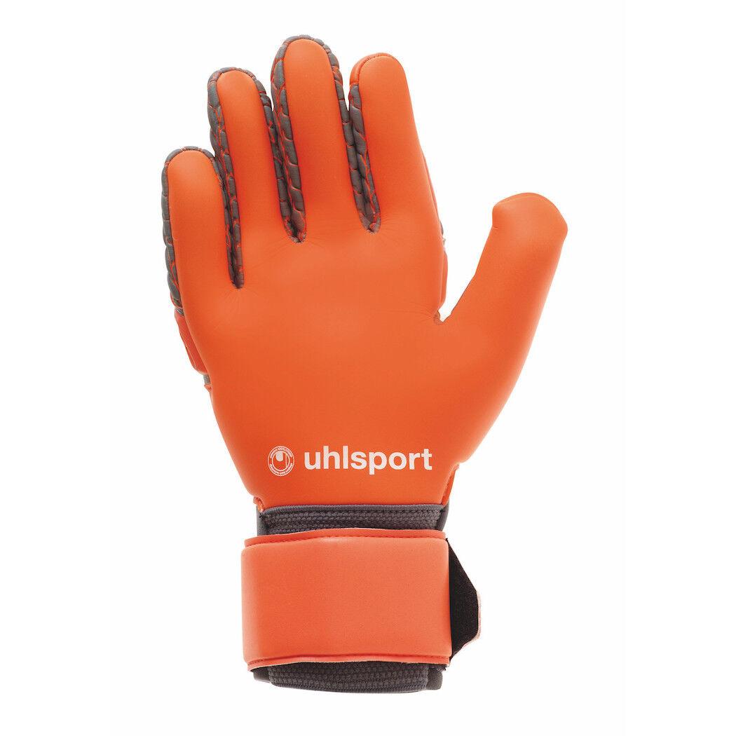 Uhlsport Absolut AeroROT Absolut Uhlsport Grip Reflex Torwarthandschuhe grau/rot/weiß 2f9b2b