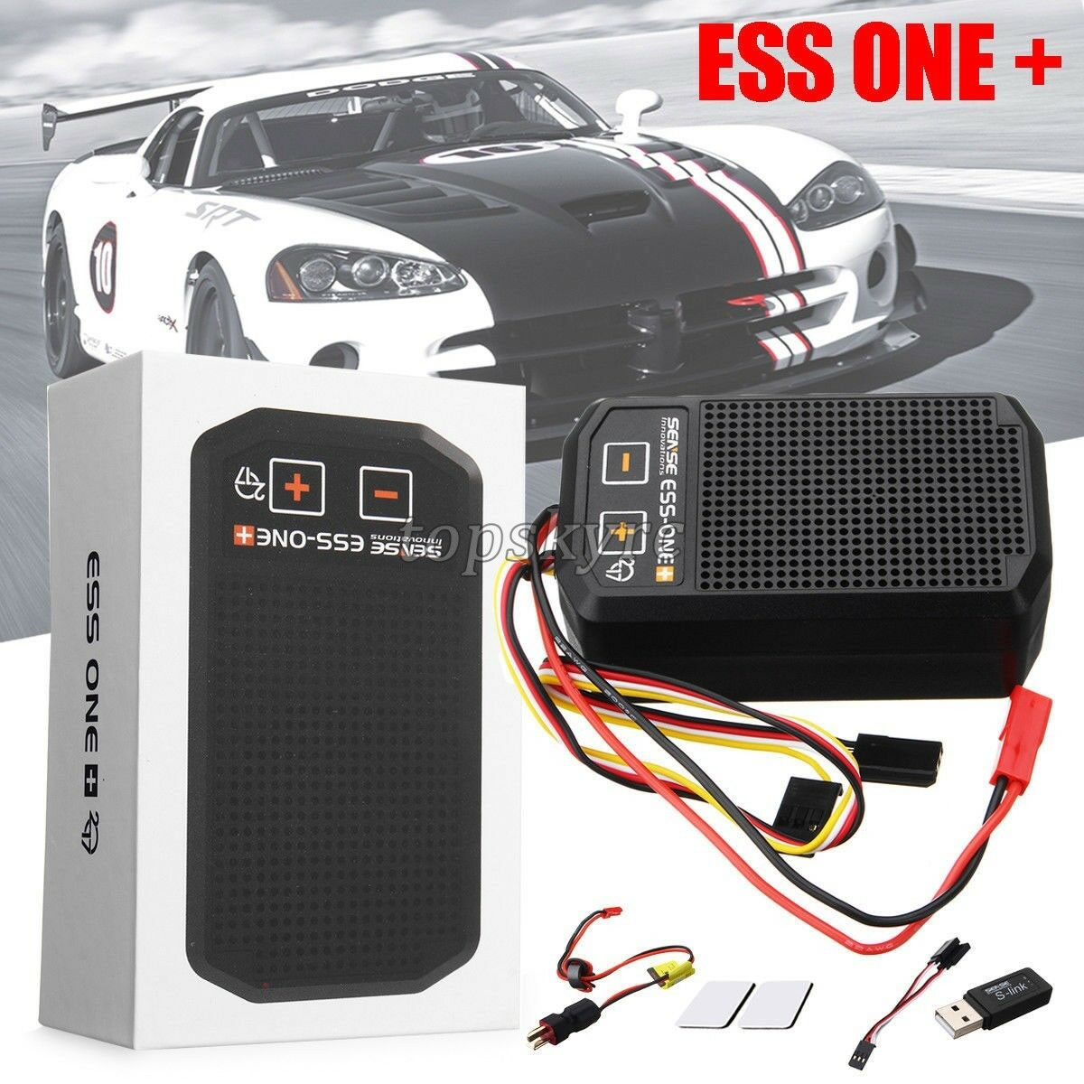 Senso innovazioni ESS uno Plus 2017 REAL simulatore di suono del Motore RC Auto Kit Parti
