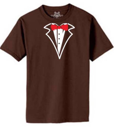 NEW MEN/'S PRINTED TUXEDO BOW TIES FUNNY HIPSTER CUSTOM GRAPHIC COTTON T-SHIRT