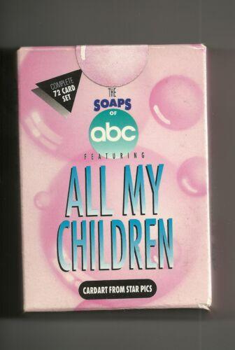 1991 Star Pics All My Children Factory Sealed Set