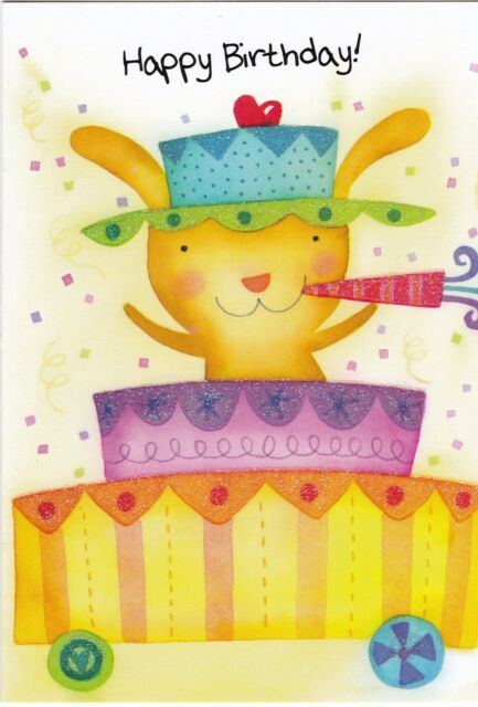 Birthday Card With Envelope For Child Ebay