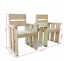 thumbnail 2 - Garden Loveseat 150x55x89cm Impregnated Pinewood Outdoor Seat Easy Assembly