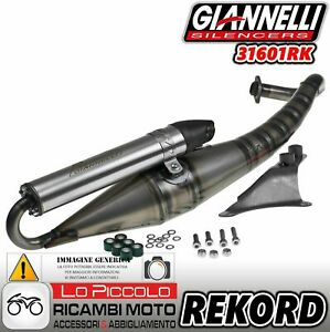 GIANNELLI FULL SYSTEM EXHAUST RACE EXTRA V2 G.ILERA STALKER NAKED 2009 09 31633P2