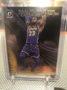 2019-20-Panini-Donruss-Optic-Lebron-James-All-Clear-For-Takeoff-Insert-SP-LAKERS