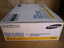 Samsung Yellow Toner Cartridge (CLP-510D2Y) Genuine