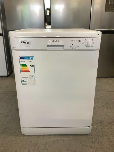 Electra C1760W A++ Dishwasher Full Size 60cm 12 Place White #EDB248501