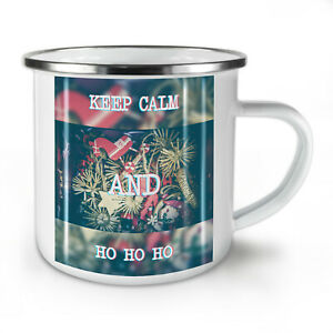 Keep Calm Gift NEW Enamel Tea Mug 10 oz   Wellcoda