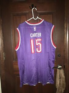 85eeecb74d6 Image is loading Mens-Champion-Size-44-Large-VINCE-CARTER-Toronto-