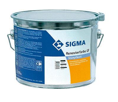Matte Isolierfarbe Für Innen Haben Sie Einen Fragenden Verstand Sigma Renovierfarbe Gf 10 Liter Weiss Heimwerker