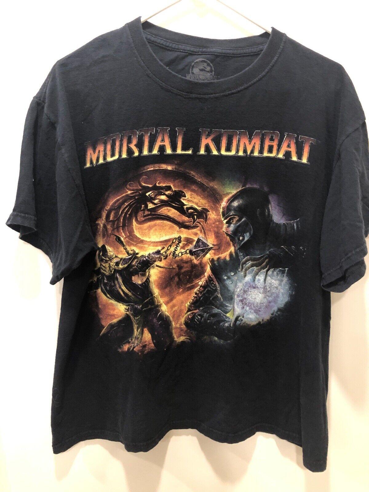 9x Vintage Large T-Shirt Lot Mortal Kombat, Deadp… - image 7