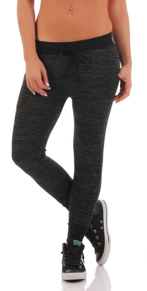 Damen Jogginghose Hose Sport Fitness Sporthose Leggings Gym Hosen Leggins 0011