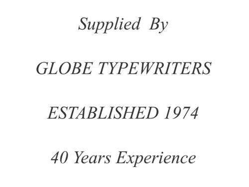 1 x 'IMPERIAL 66/' *BLACK* TOP QUALITY *10 METRE* TYPEWRITER RIBBON *SEALED* §