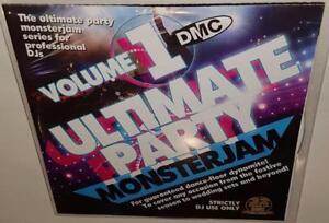 DMC-MONSTERJAM-ULTIMATE-PARTY-VOLUME-1-BRAND-NEW-DJ-REMIX-SERVICE-CD