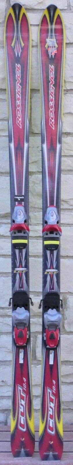 ROSSIGNOL CROSS CUT LENGTH 170 SKIS ROSSIGNOL FTX 105 BINDINGS