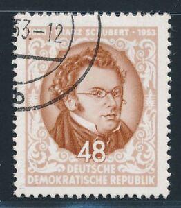 DDR-1953-MER-404-y-II-timbrato-WZ-anomala-esaminato-perfette-MER-50