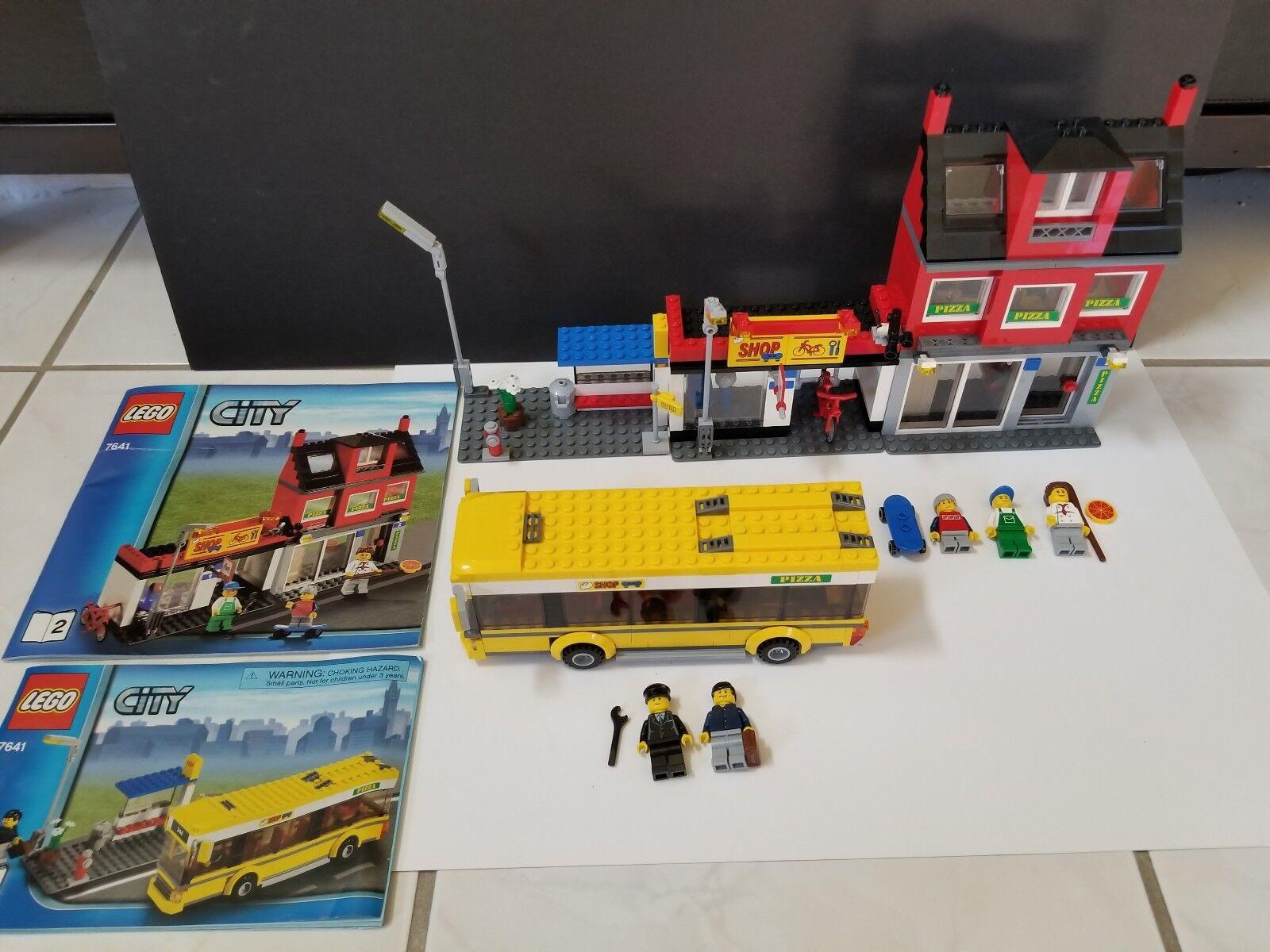 Lego City Set Completo De Esquina-Excelente Estado