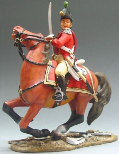 KING & COUNTRY THE AGE OF NAPOLEON NA010 BRITISH MOUNTED OFFICER MIB