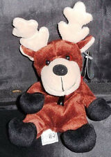 BALTIC Reindeer Coca Cola International SWEDEN Bean Bag Plush Toy w/ Tags 1999