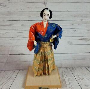 1981-Authentic-Yamaha-Kyugetsu-Samurai-Sword-Doll-16-5-034-Made-in-Japan-mint