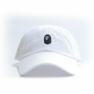 a0e516bb5f8 Image is loading 034-BAPE-034-Embroidered-Dad-Hat-BATHING-APE-