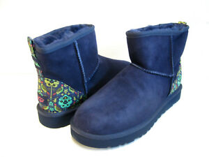 a41fb0f0581 Details about UGG CLASSIC MINI LIBERTY WOMEN ANKEL BOOTS NAVY US 10 /UK 8.5  /EU 41