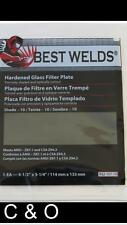 Shade 9 Welding Filter Plate 45 X 525 Hardened Glass Lens For Welding Helmet