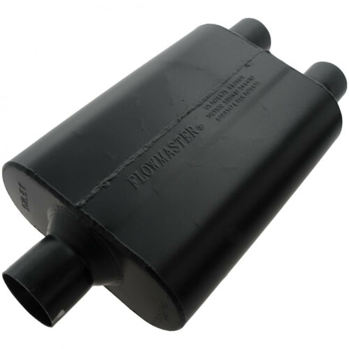 """2.25/"""" Dual Out 9425452 Flowmaster Super 44 Series Muffler 2.5/"""" Center In"""