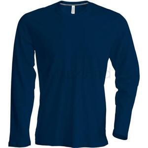 Kariban-Long-Sleeve-Crew-Neck-T-Shirt
