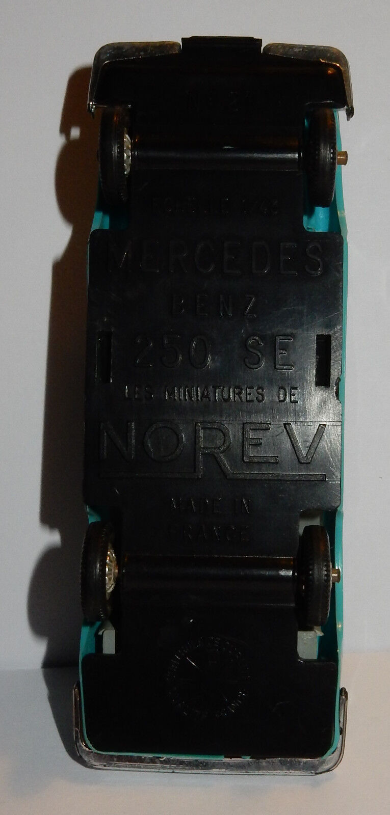 OLD NOREV MADE IN FRANCE 1967 MERCEDES-BENZ 250 IS GREEN GREEN GREEN REF 21-5a 1 43 da4ff0
