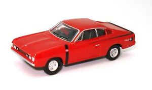 1-87-1972-VALIANT-CHARGER-R-T-RED-BRAND-NEW-DIECAST-IN-DISPLAY-CASE