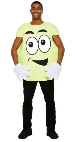 Dress Up Adult Men Women Sweet Happy Face Emoticon Costume Childrens Party Host