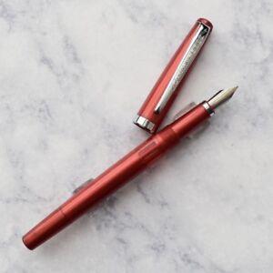 Noodlers-Nib-Creaper-Standard-Flex-Mars-Pearl-Red-Piston-Fountain-Pen-Flex-Nib