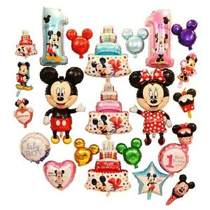 40-034-mickey-mouse-minne-head-Foil-Balloons-Fo-Baby-kids-Birthday-Party-Decor-Gift